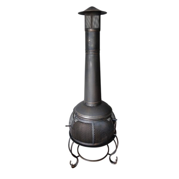 Benross GardenKraft 19750 Garden Steel Chiminea Heater