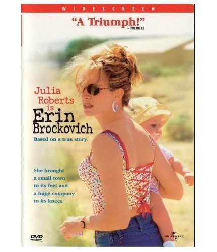 Julia Roberts Is Erin Brockovich DVD