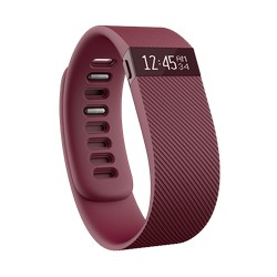 Fitbit FB404BYL Charge Activity And Sleep Tracker Burgundy Large