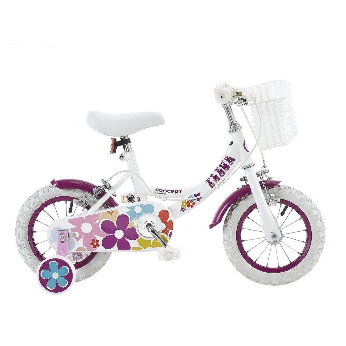"Insync Fleur 12"" Wheel Girls Bicycle (IN0122)"