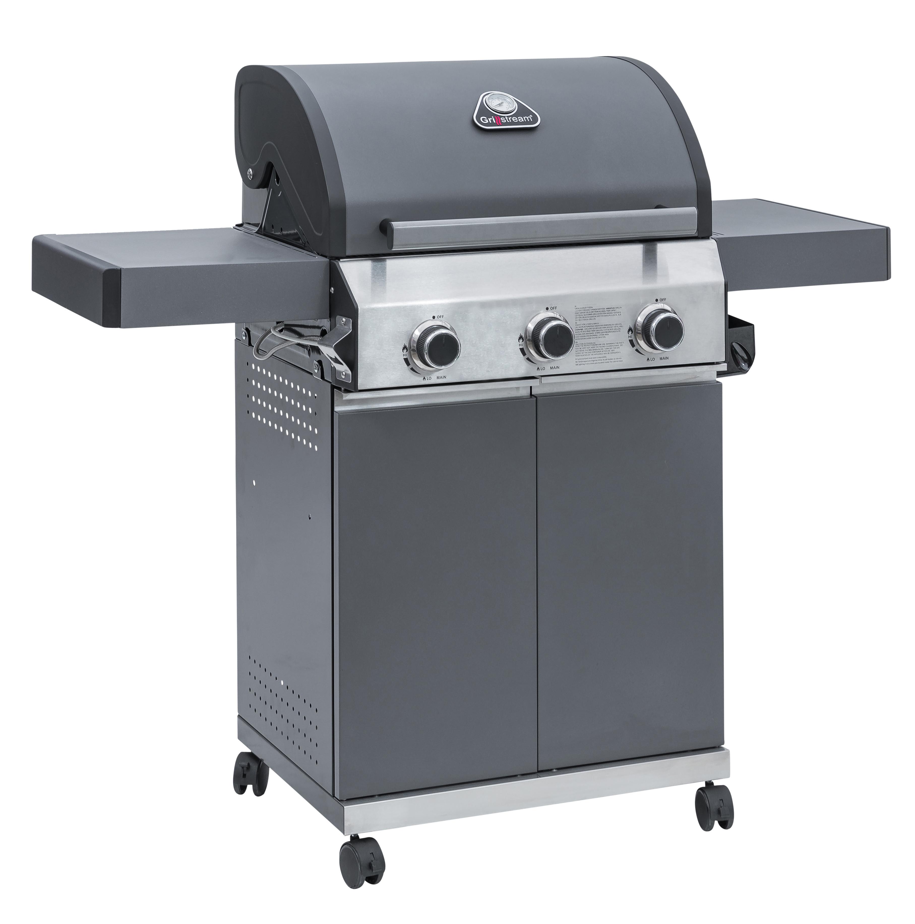 Grillstream GCH30MG 3 burner gas BBQ