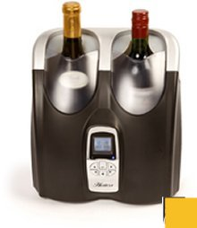 Hostess HW02MA Twin bottle wine chiller