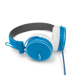 iLuv iHP636 ReF Headphones With Microphone Blue