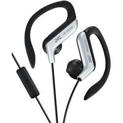 JVC HA-EBR80-S In-Ear Headphones with Mic Silver