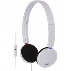 JVC HA-SR170-W On-Ear Headphones with Remote White