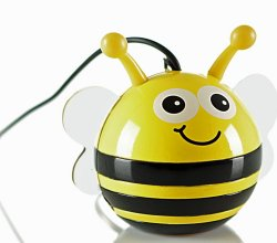 KitSound Mini Buddy Bee Speaker Compatible with iPod