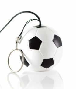 KitSound Mini Buddy Football Speaker Compatible with iPod
