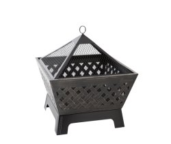 Landmann 25282 Heavy Duty Barrone Outdoor Firepit with Cover