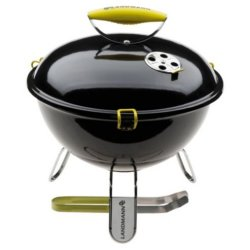 Landmann 31377 Piccolino Anthracite Portable Charcoal BBQ