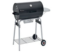 Landmann Black Taurus 660 Charcoal Trolley BBQ Large  31421