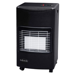 Lifestyle Heatforce Black Gas Heater 505-117