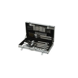 lifestyle 30 Piece Steel BBQ Tool Set With Case LFS157