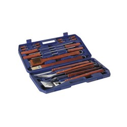 lifestyle 18 Piece BBQ Tool Set With Case LFS158