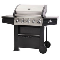 Lifestyle Dominica 5+1 Burner Gas BBQ Hooded with Side Burner LFS683