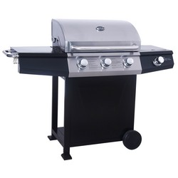 Lifestyle St Vincent 3 Burner Hooded Gas BBQ and Side Burner LFS684