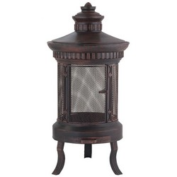 Lifestyle Prestige Large Round Firepit Patio Heater LFS700
