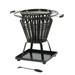 Lifestyle Signa Small Round Fire Basket LFS703