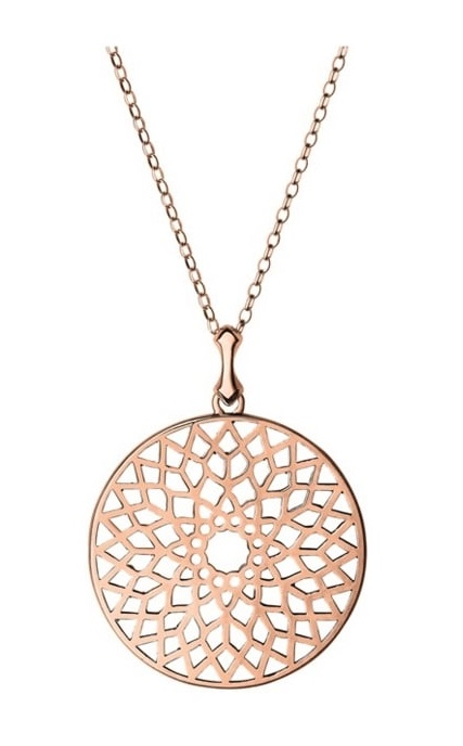 Links Of London 5024.1410 Rose Gold Vermeil Large Pendant