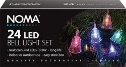 Noma 24 LED Bell Christmas lights 8225m