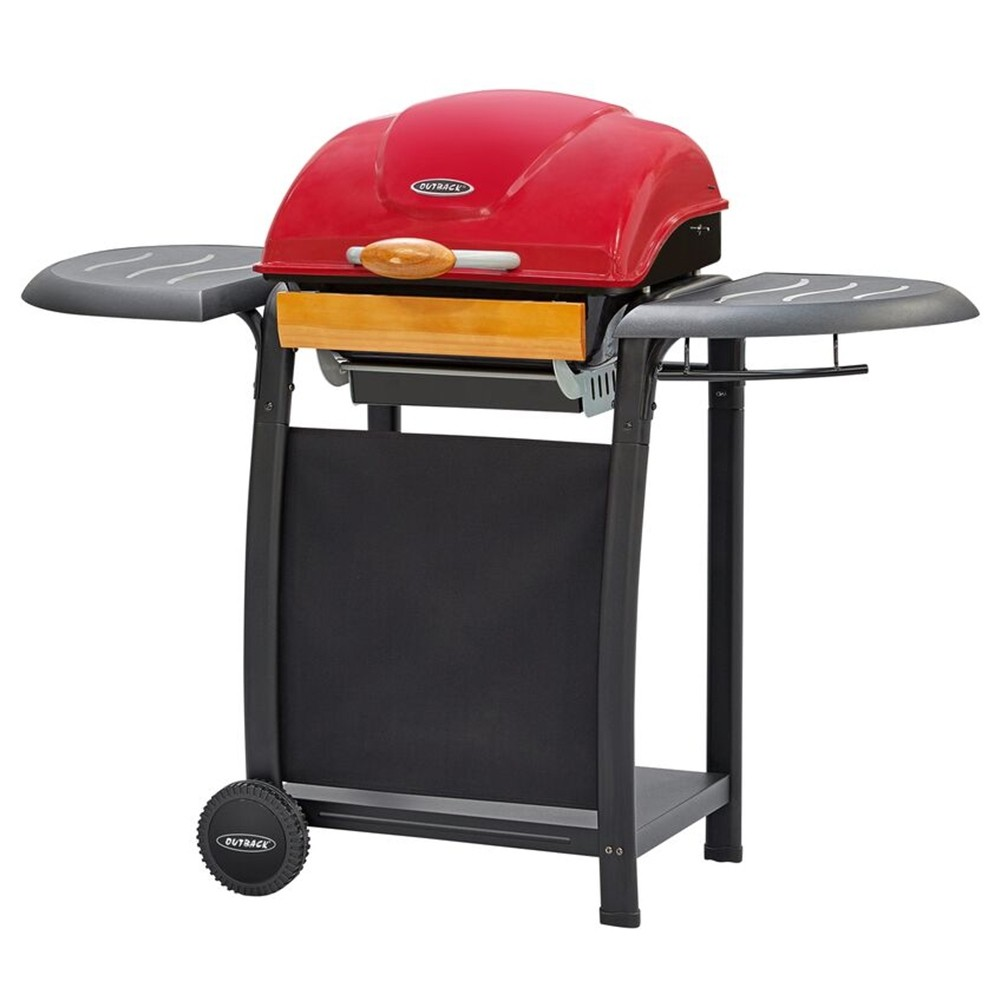 Outback Omega 210 BBQ Grill - Red 370716