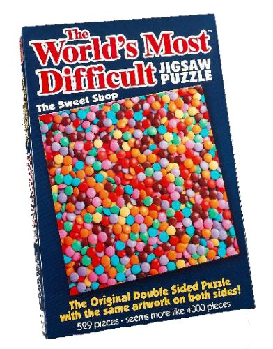 Paul Lamond PLG6220 Worlds Most Difficult Jigsaw Puzzle