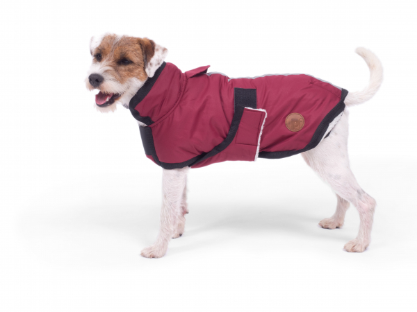 PETFACE 14064 WATER RESISTANT DOG COAT RED 35CM