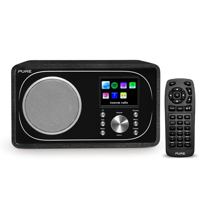 Pure Evoke F3 Portable Internet Radio with Bluetooth, WiFi, DAB/FM Tuner