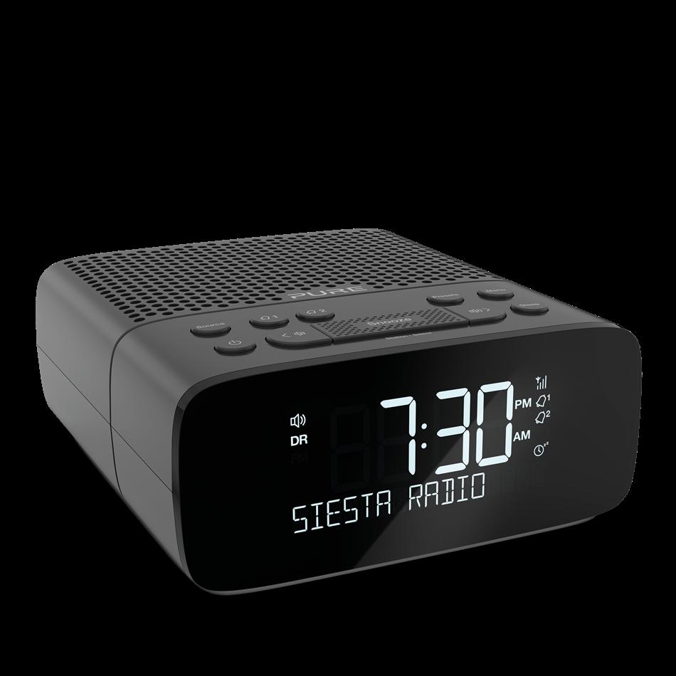 Pure Siesta S2 Graphite Black DAB FM Clck radio
