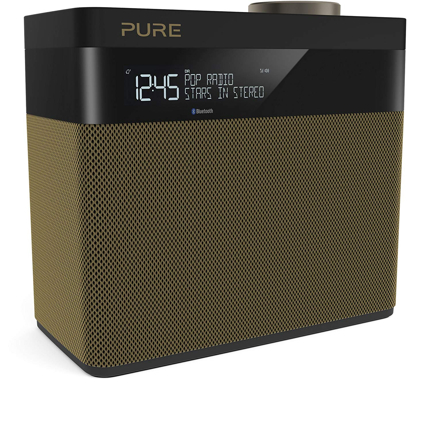 Pure Pop Maxi S (Gold) Stereo DAB/FM digital and FM radio with Bluetooth
