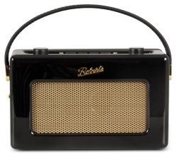 Roberts RD60 Revival Piano Black DAB Radio