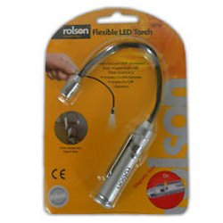 Rolson Flexible LED Torch 125mm 60736