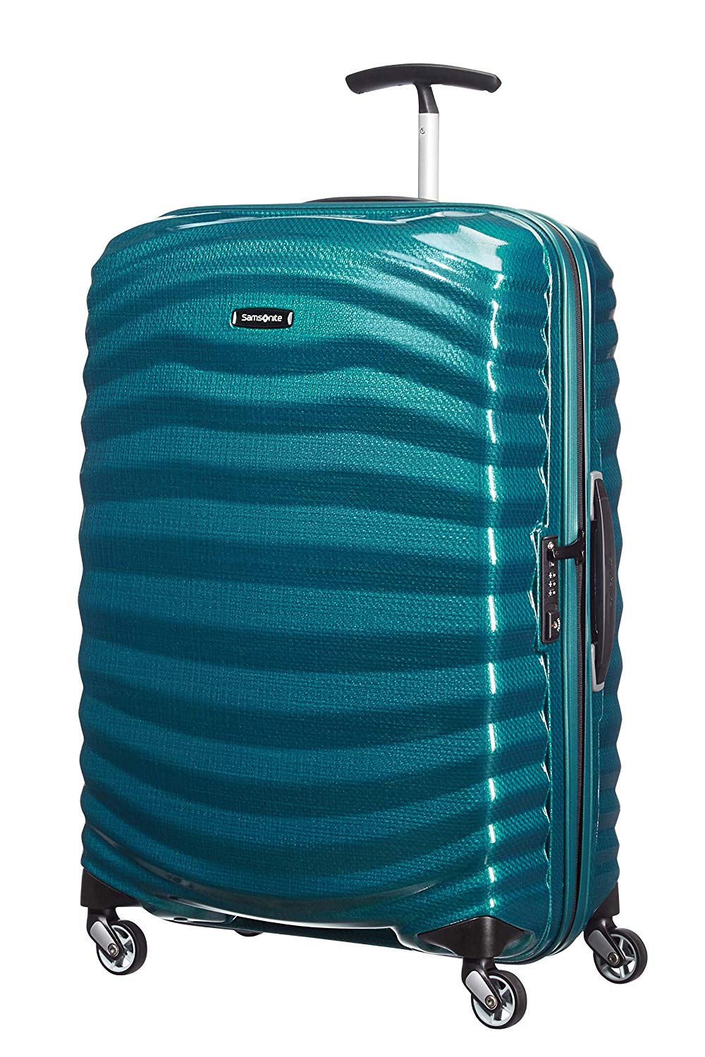 Samsonite Lite-Shock 81cm Spinner Petrol Blue 523441