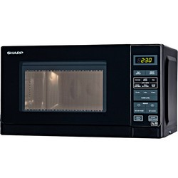 Sharp R272KM 800W Microwave Oven Black