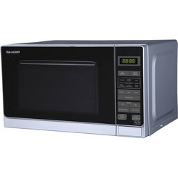 Sharp R272SLM 800W Microwave Oven Silver