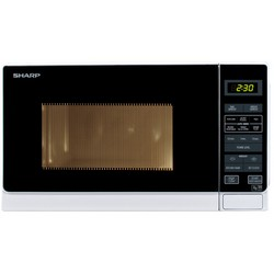 Sharp R272WM 800W Microwave Oven White