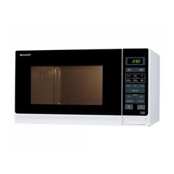 Sharp R372WM 900W Microwave White