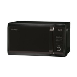 Sharp R664KM 800W Microwave Oven Black