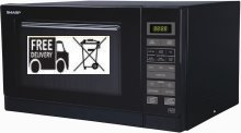 Sharp R372KM Black 900w Microwave oven