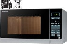 Sharp R372SLM Silver 900w Microwave oven