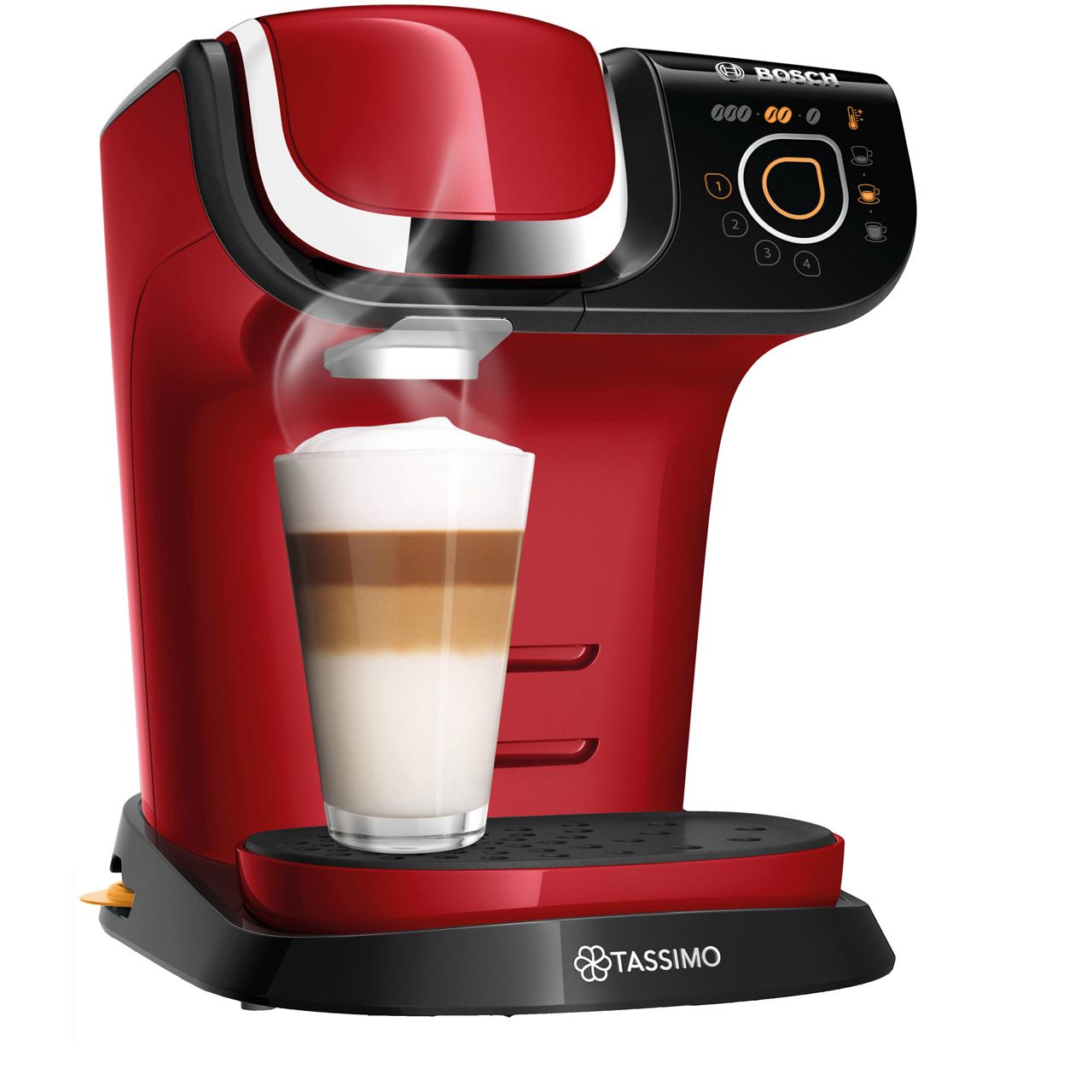 TASSIMO My Way 2 - Hot Drinks Machine - Red TAS6503GB