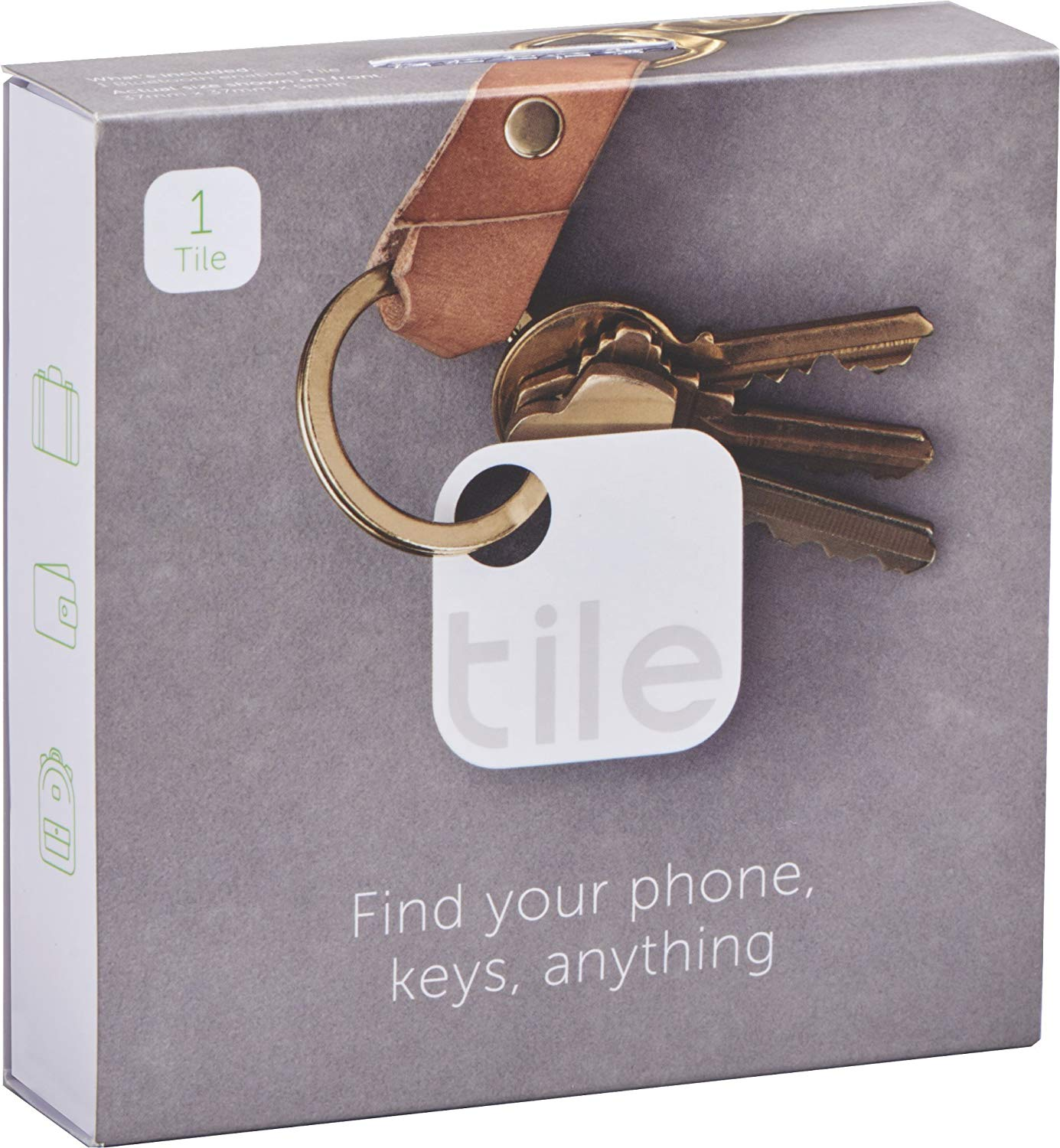 Tile Bluetooth Item Finder/Tracker for iPhone and Android Phone